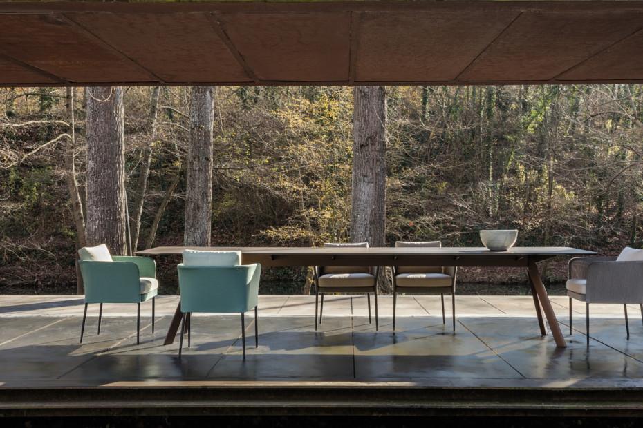Atrivm outdoor rectangular dining table C227