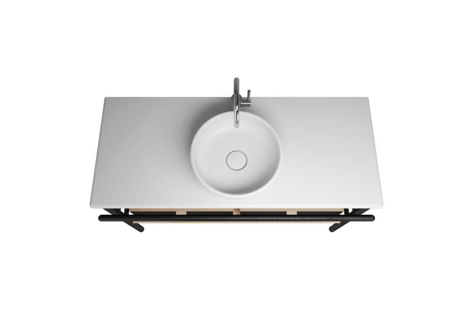 Mya Ceramic washbasin incl. vanity unit and 2 drawers