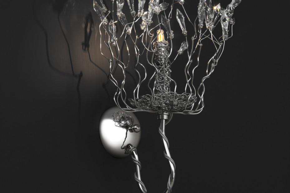 Candles and Spirits Wall Lamp