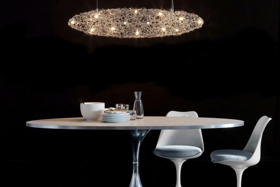Crystal Waters Hanging Lamp Cigar