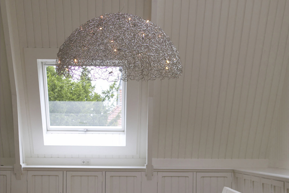 Crystal Waters Hanging Lamp Hood