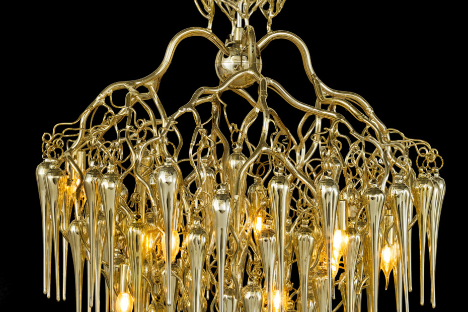 Hollywood Chandelier Glass