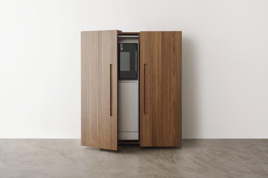 Bulthaup b2 kitchen appliance housing cabinet by bulthaup for Bulthaup kitchen cabinets