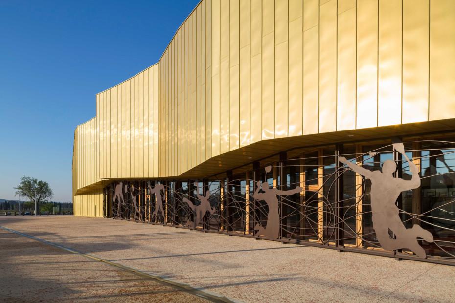 TECU® GOLD, Gymnasium La Fare Les Oliviers, Marseille, Frankreich