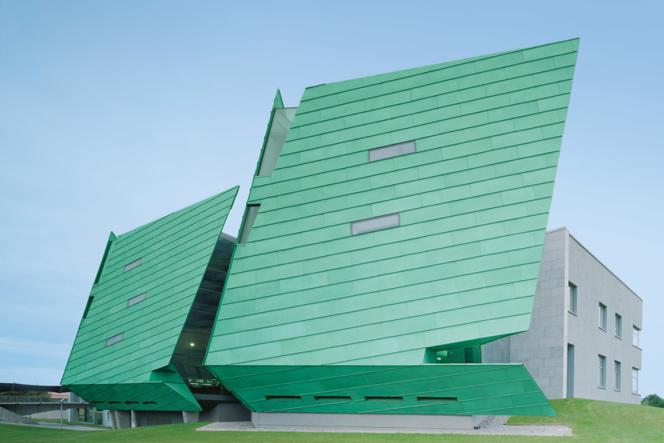 TECU® PATINA, Mayo Institut of Technology, Galway, Irland