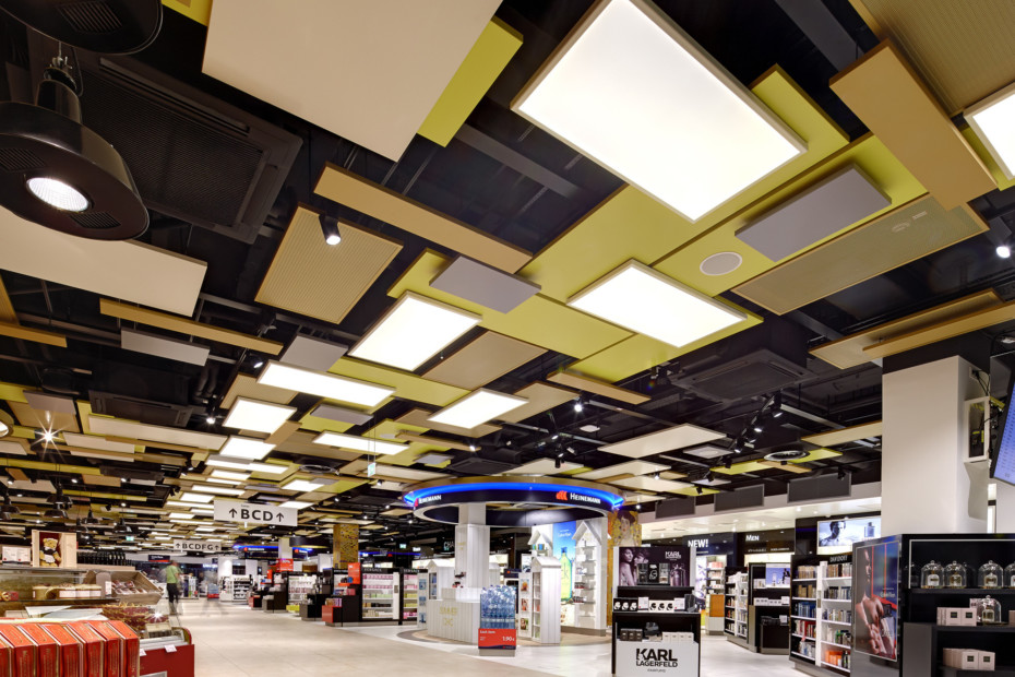 Canopy ceiling