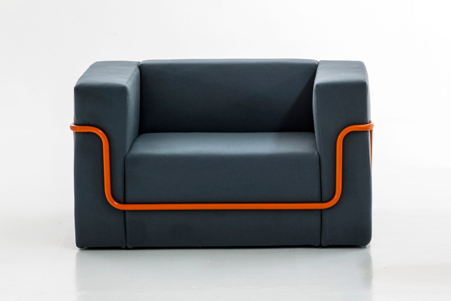 Conduit armchair