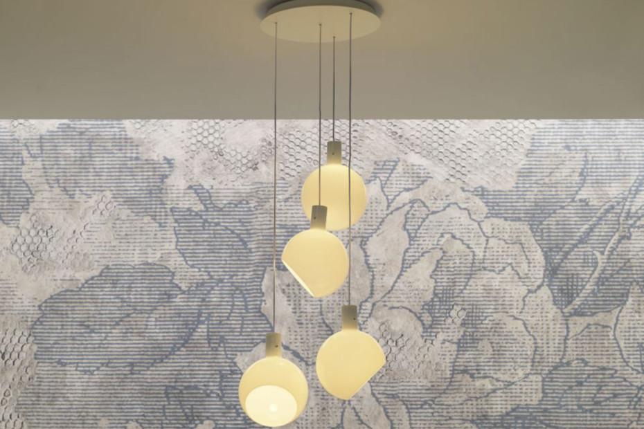 Parola suspension lamp