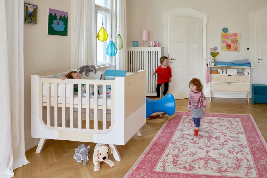 Famille Garage Kinderbett