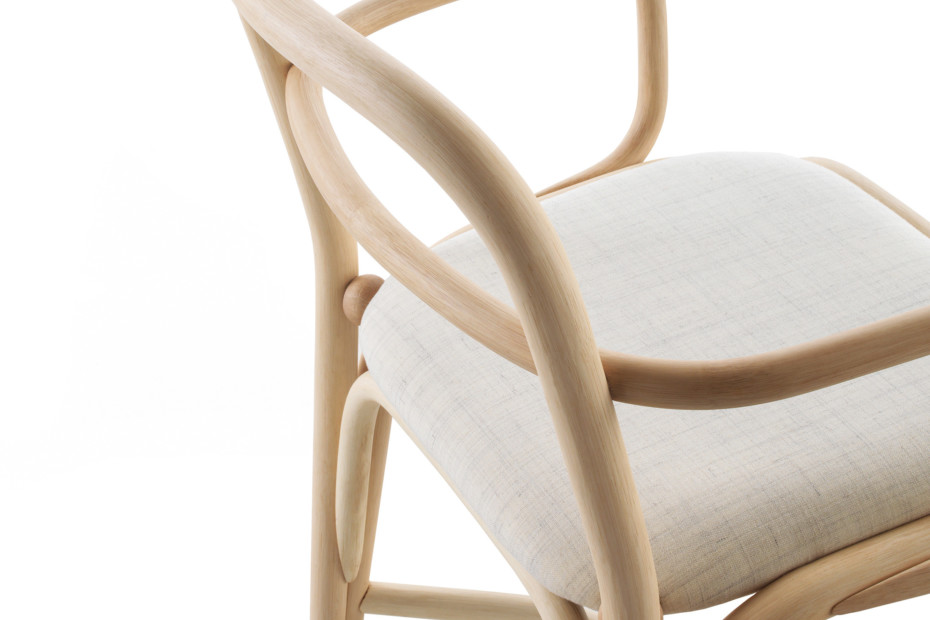 Fontal upholstered dining armchair T011 U