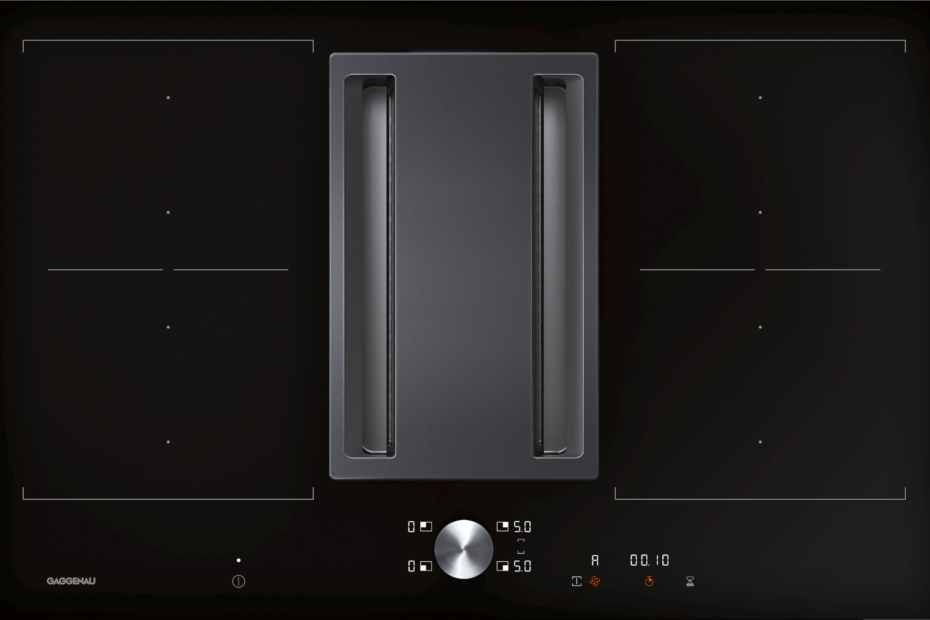 Flex-Induktionskochfelder mit integrierter Lüftung