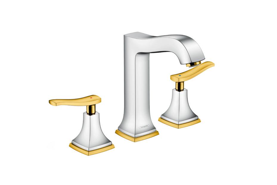 Metropol Classic 3-hole washbasin lever high