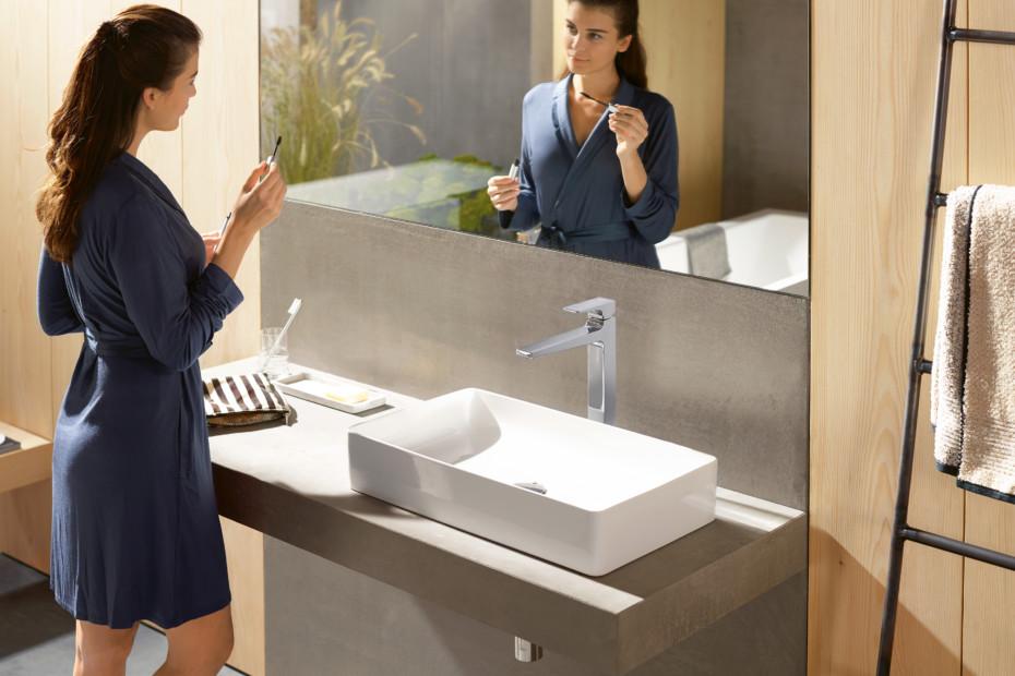 Metropol single lever washbasin mixer 260