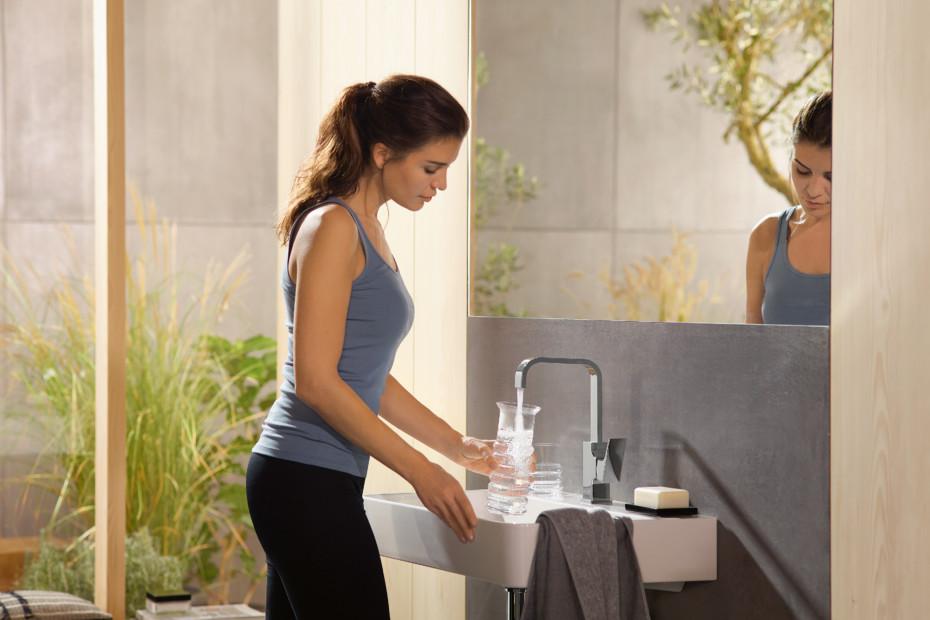 Metropol washbasin swivel