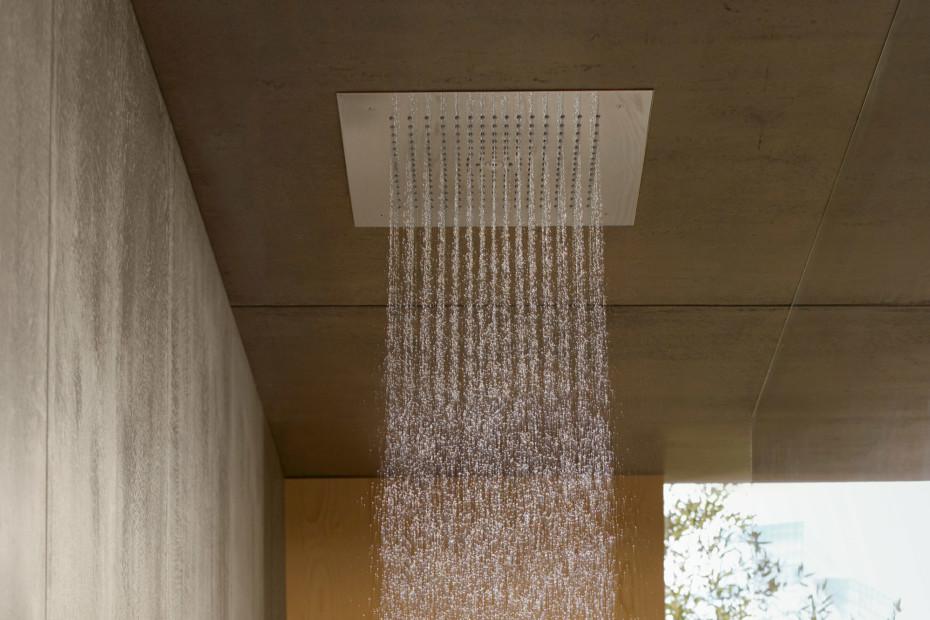 Raindance E over head shower concealed, Ø400