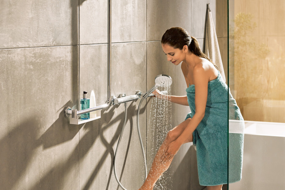 Unica Comfort shower bar right