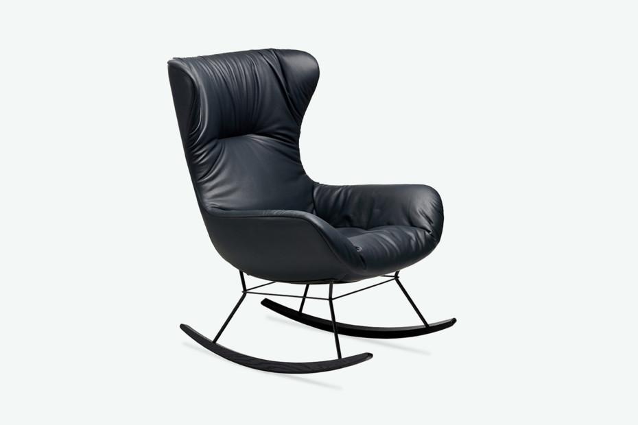 Leya Rocking Wingback Chair