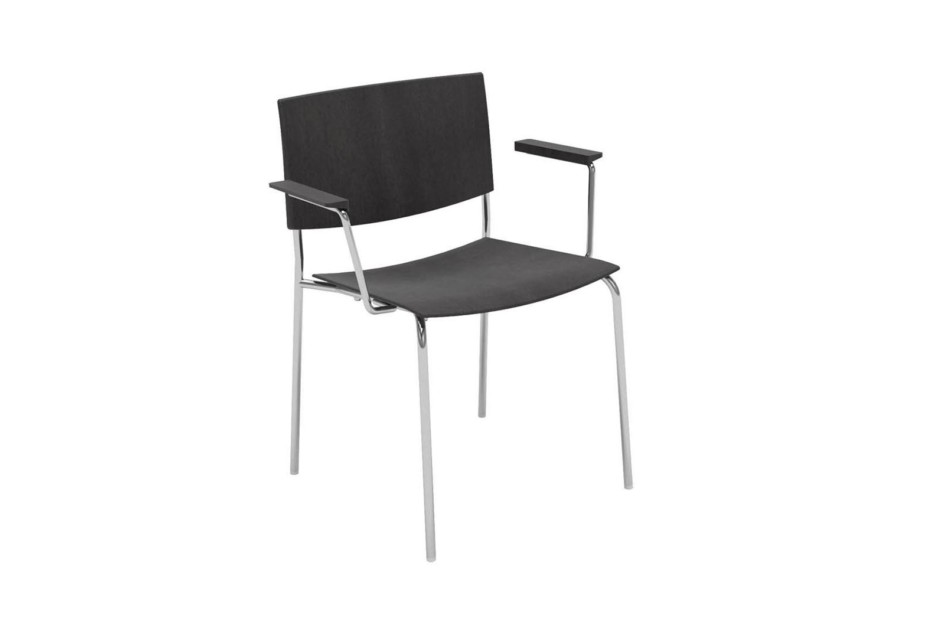 Sit with armrests