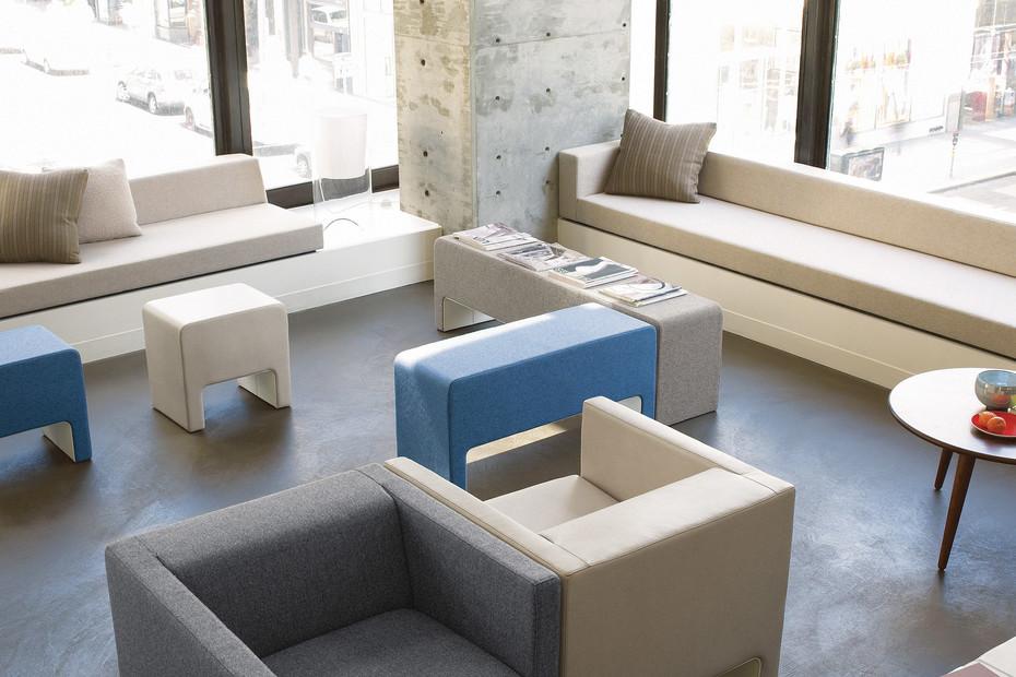 Viccarbe Davos Sitzbank
