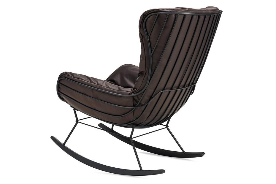 Leyasol Rocking Wingback Chair
