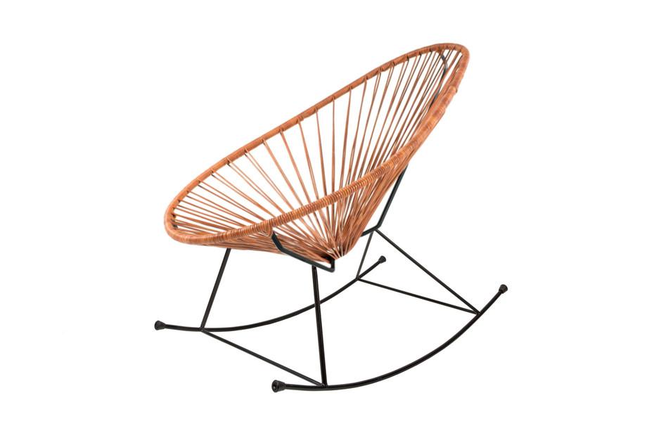 Acapulco Chair Rocking Leder Cognac