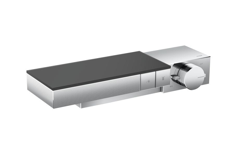 Axor Edge Thermostat für 2 Verbraucher für Auf-/Unterputzinstallation - Diamantschliff