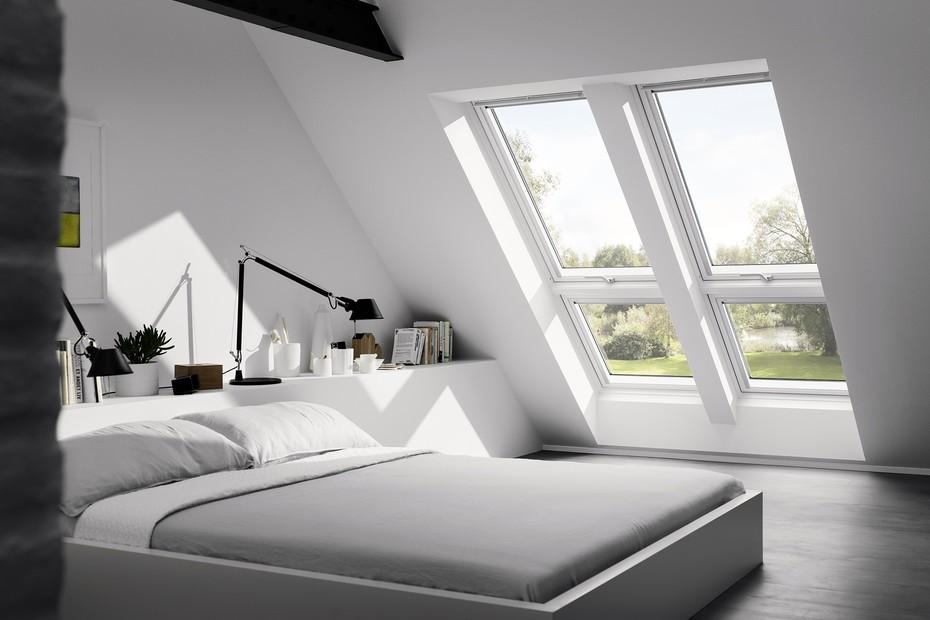 Lichtlösung mit großer Fensterfläche