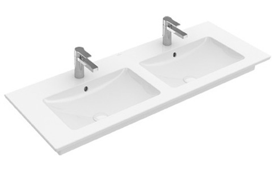 Double vanity washbasin Venticello
