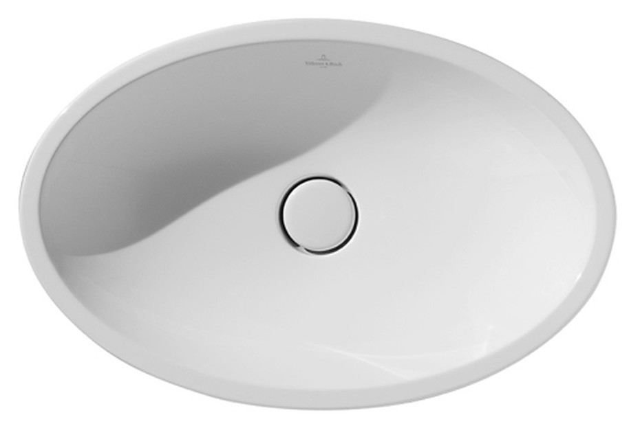 Surface-mounted washbasin oval Loop & Friends