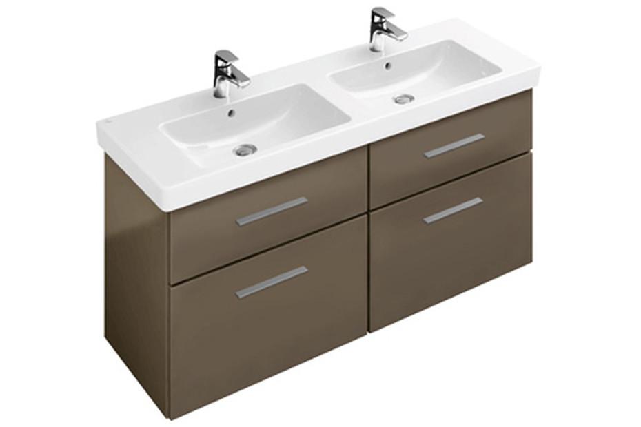 Double vanity washbasin Subway 2.0