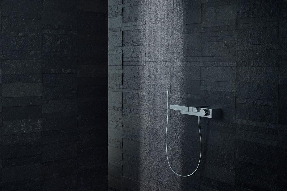 Axor Edge Thermostat für 3 Verbraucher für Auf-/Unterputzinstallation