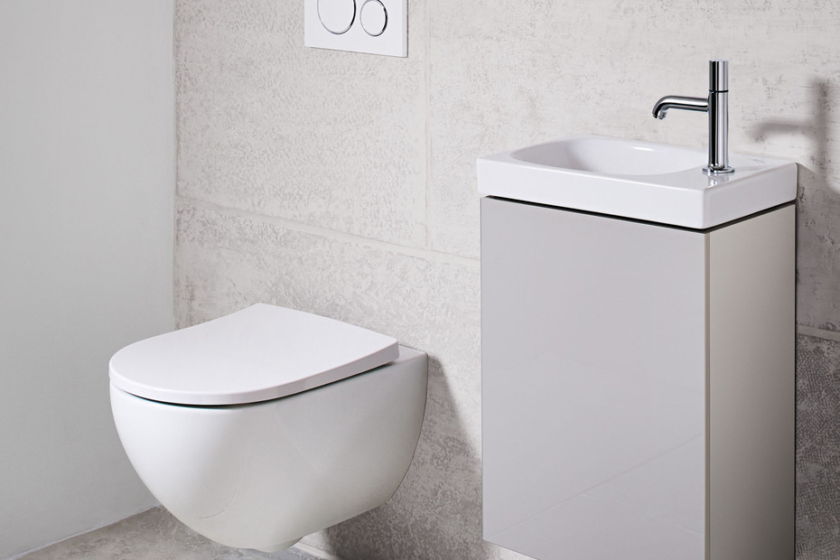 Acanto wash-down WC wall-hung