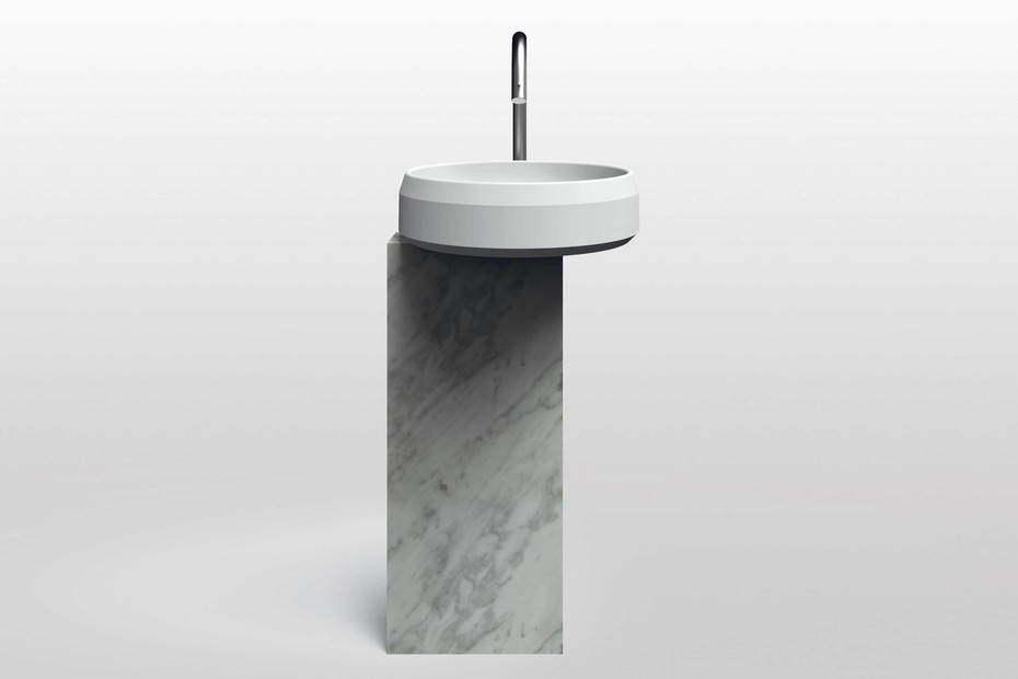 Lariana freestanding washbasin