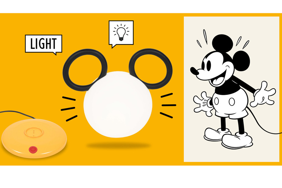 Lampe Mickey Mouse ©