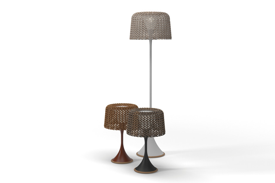 Ambient Mesh tall lamp