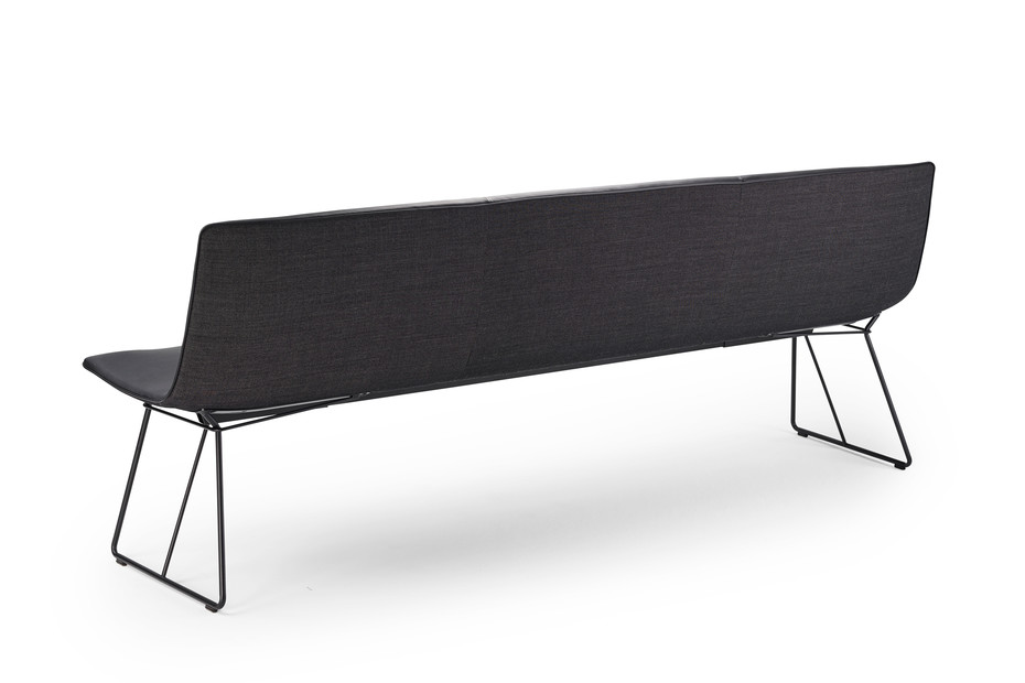 Amelie bench with wire frame