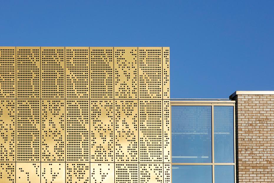 TECU® GOLD, Mulberry Park Community Hub, Bath, UK