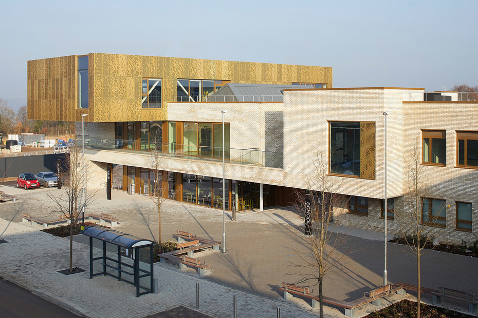 TECU® GOLD, Mulberry Park Community Hub, Bath, UK