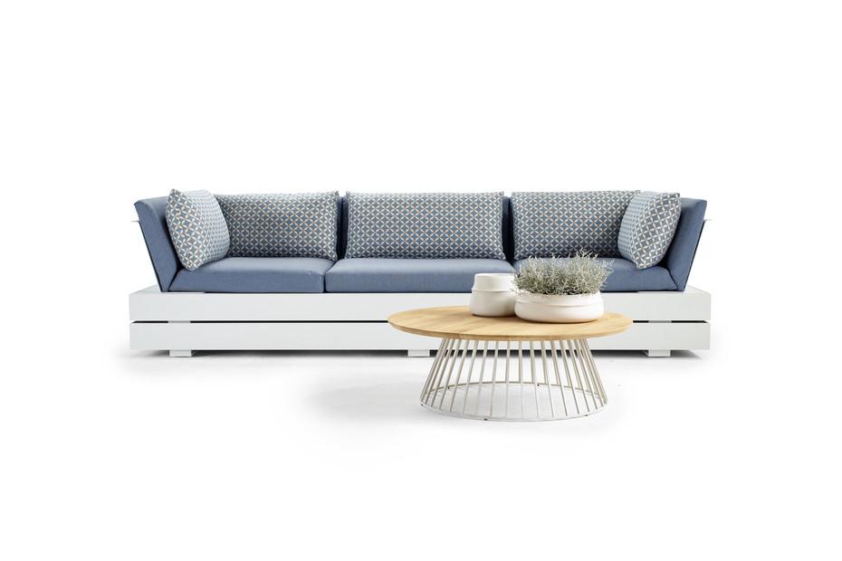 Boxx three-seater sofa