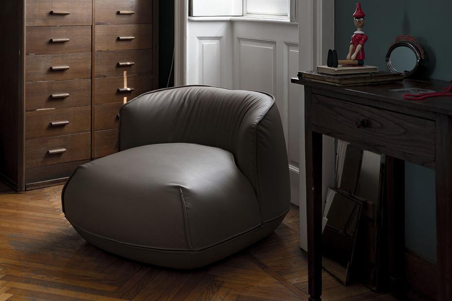 Brioni indoor leather