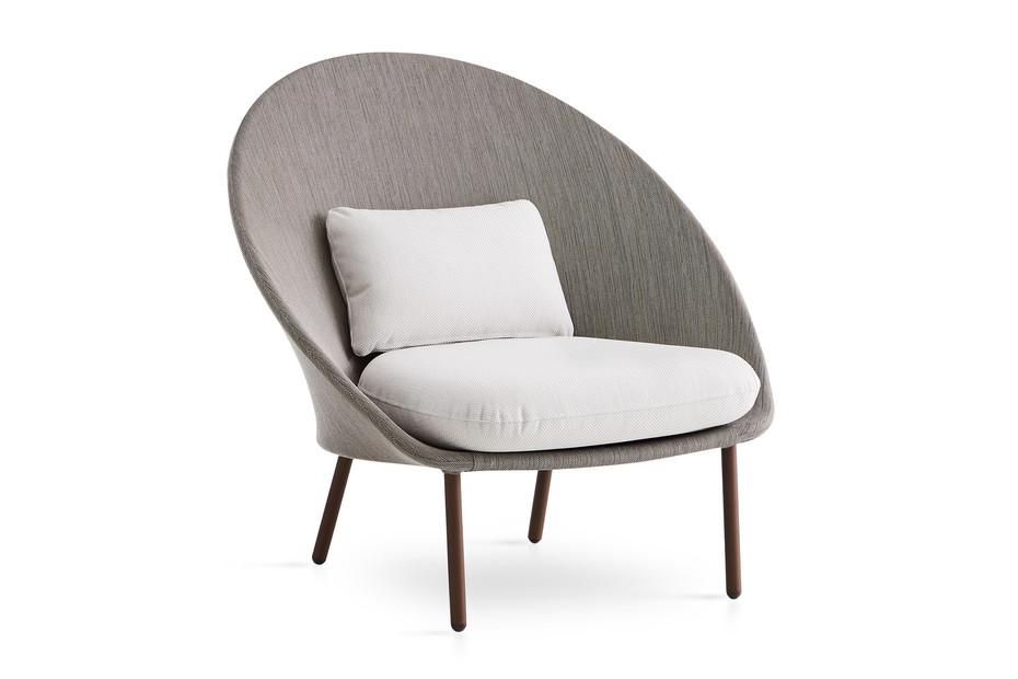 Twins low armchair C170
