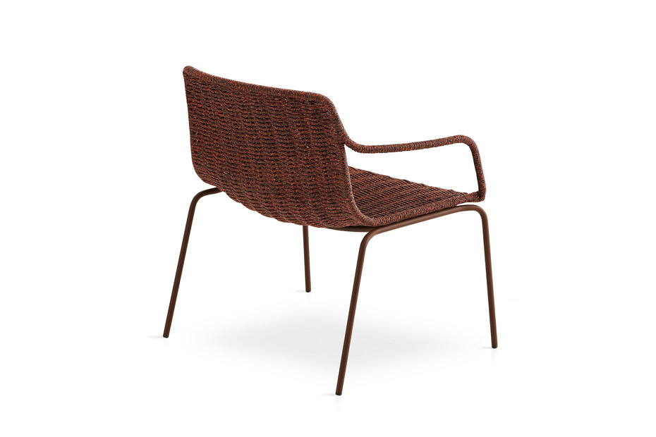 Lapala Niedriger Sessel mit Polyesterseil C591 T