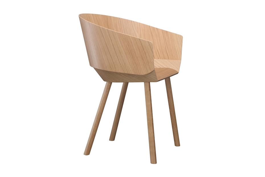 HOUDINI chair with armrest