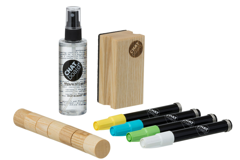 CHAT BOARD® Woody Starter Set Natural Neon (1)