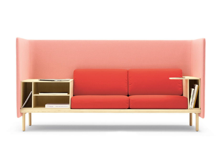 Floater sofa & easy chair