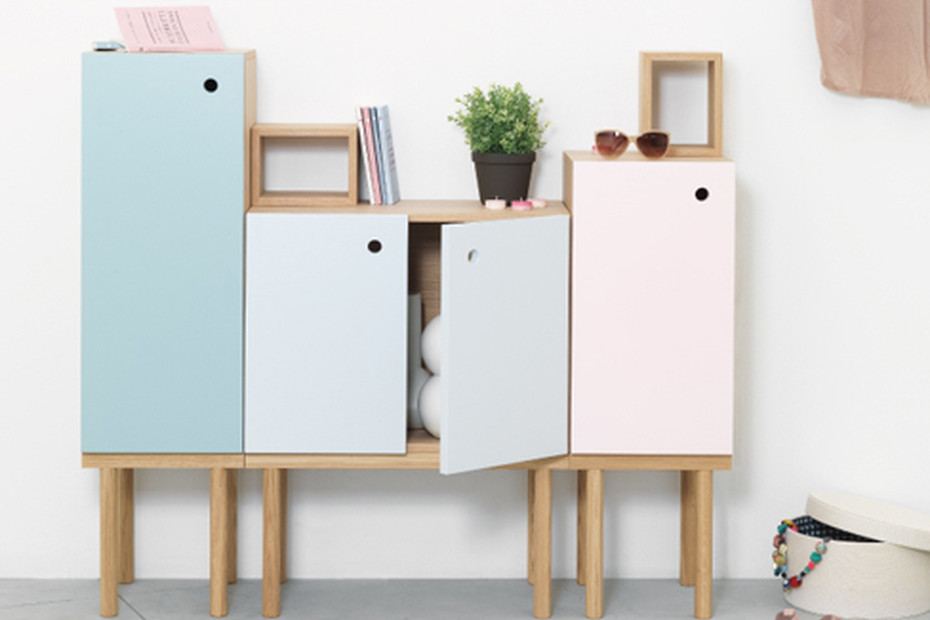 Collage Cabinet 1