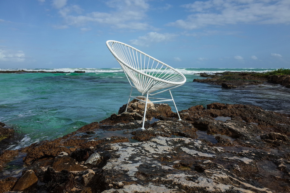 Acapulco Chair Classic Blanco