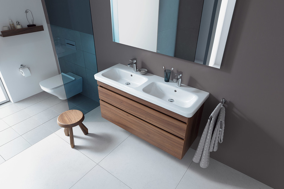 DuraStyle double washbasin vanity unit