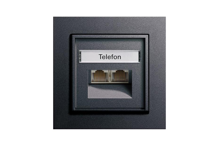 E2 Telefon-/ Netzwerkanschlussdose