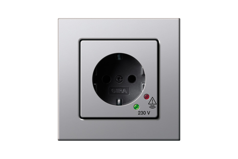E22 socket with overvoltage protection